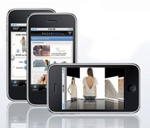 Application Iphone pour les ventes privées BazarChic
