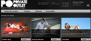 Private Outlet lance son nouveau site
