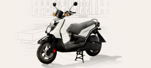 Vente privée de scooters Yamaha