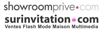 Logo de Showroomprivé et Surinvitation