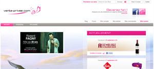 Nouveau site Vente Privée 2011