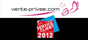 Vente-Privee.com, service client de l'année 2012